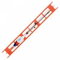 Оснастка поплавочная Lineaeffe Fluorocarbon Arancio (крючок № 10)