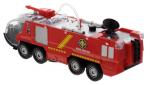 Пожарная машина с брандспойтом