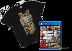 игра GTA 5 PS4 + футболка GTA 5