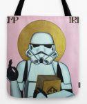 Подарок Оригинальная сумка Star Wars 'Святой штурмовик'