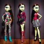Лялька Айріс Клопc Monster High з набором одягу