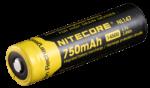 Аккумулятор литиевый Li-Ion 14500 NL147 3.7V (750mAh), защищенный