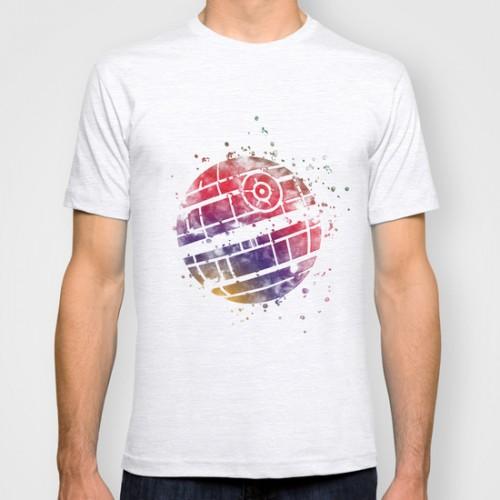 Купить Оригинальная дизайнерская футболка 'Star Wars Death Star 2', Risha Myasov
