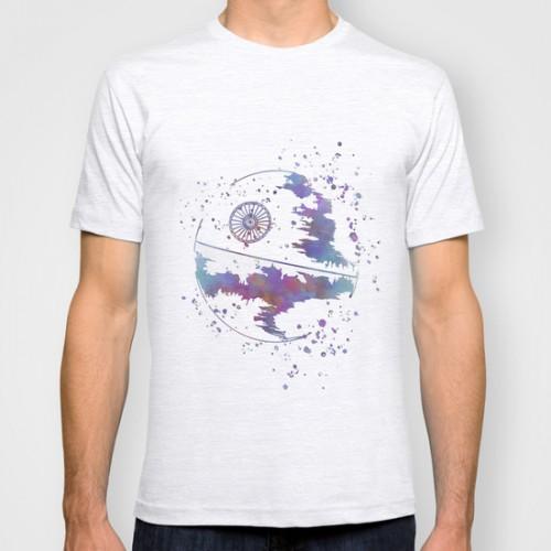 Купить Оригинальная дизайнерская футболка 'Star Wars Death Star', Risha Myasov