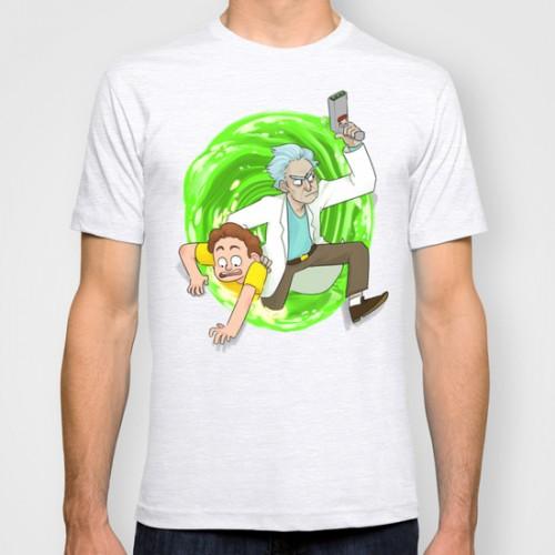 Купить Оригинальная футболка 'Traditional Rick and Morty', Risha Myasov