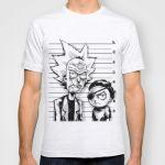 Подарок Оригинальная футболка 'Rick and Morty'