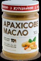 Подарок Арахісове масло з клюквою, 300 г