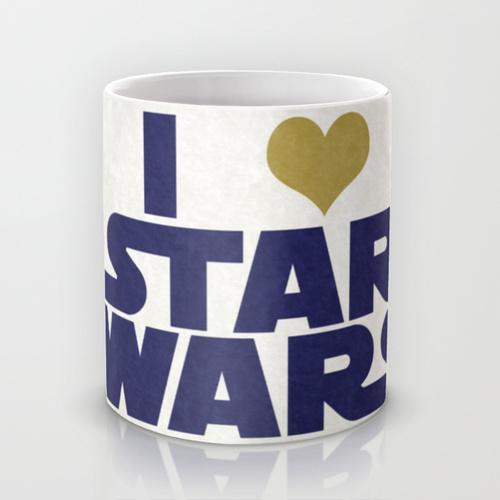 Купить Оригинальная чашка Star Wars 'I Love Star Wars', Risha Myasov