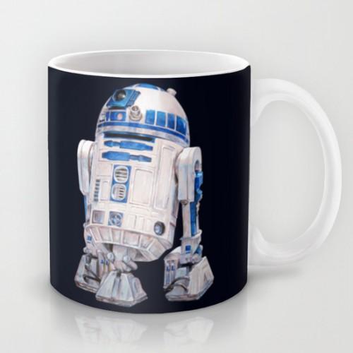 Купить Оригинальная чашка Star Wars 'R2 D2 - Star Wars', Risha Myasov