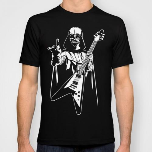 Купить Оригинальная дизайнерская футболка Star Wars 'Vader Rocks', Risha Myasov
