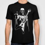 Подарок Оригинальная дизайнерская футболка Star Wars 'Vader Rocks'