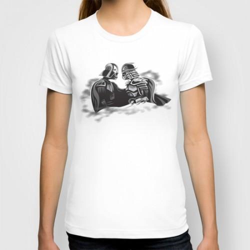 Купить Оригинальная дизайнерская футболка Star Wars 'Vader Meets Shredder', Risha Myasov
