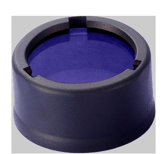 Купить Диффузор фильтр для фонарей Nitecore NFB34 (34 мм) синий