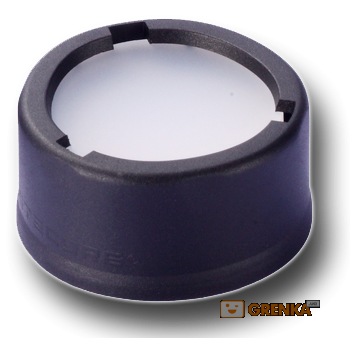 Купить Диффузор фильтр для фонарей Nitecore NFD23 (22-23 мм) белый