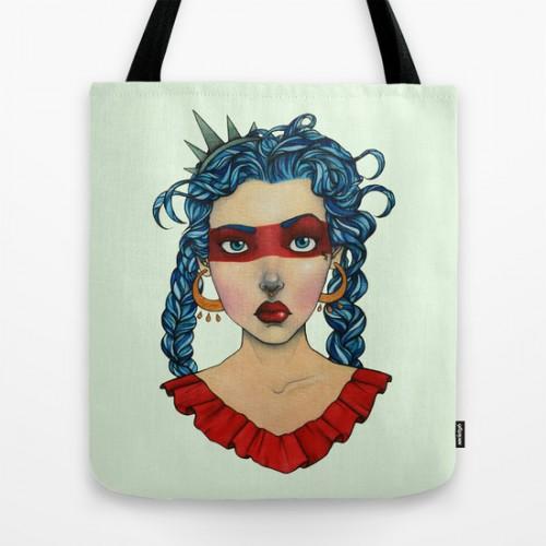 Купить Оригинальная сумка 'Americana', Risha Myasov