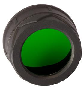 Купить Диффузор фильтр для фонарей Nitecore NFG40 (40 мм) зеленый