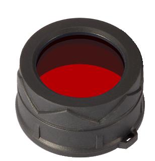 Купить Диффузор фильтр для фонарей Nitecore 34 (34 мм) красный
