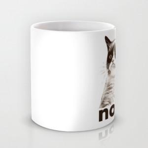 фото Оригинальная чашка 'Nope - Grumpy cat' #2