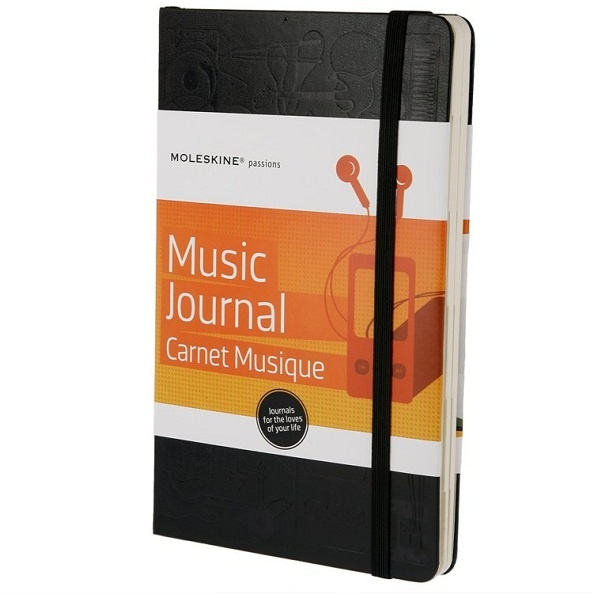 Купить Записная книга Moleskine 'Книга музыки'
