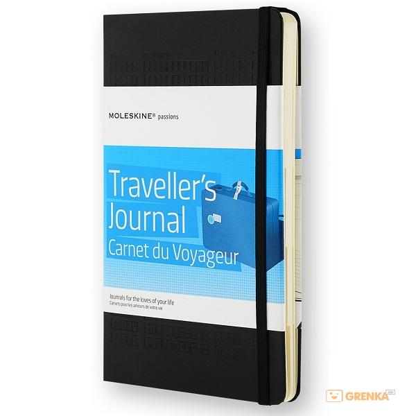 Купить Записная книга Moleskine 'Книга путешесвий'