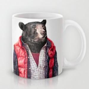 Подарок Оригинальная чашка 'Black Bear'