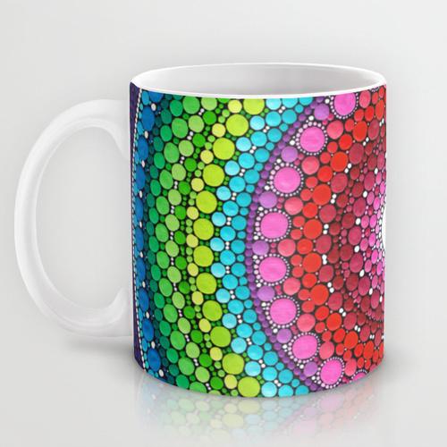 Оригинальная чашка 'Mandala of Inner Peace'