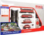 Стартовый набор 'Товарный поезд' с дизельным локомотивом и пожарной машиной