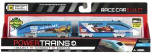 Скоростной локомотив лондонской подземки с вагоном