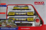 Стартовый набор 'Пассажирский поезд 2-х этажные вагоны' с электровозом