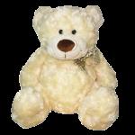 Мягкая игрушка Медведь (белый, с бантом 48 см)