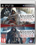 игра Комплект Assassin's Creed 4: Черный Флаг + Assassin's Creed: Изгой PS3