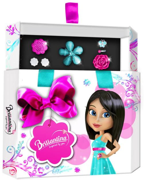 Купить Подарочный набор 'Hex Box' (голубой), Briliantina