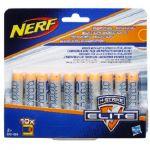 Комплект 10 деко-стрел для бластеров Nerf Элит