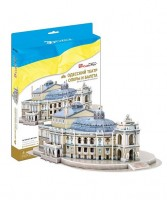 Трехмерная головоломка-конструктор CubicFun 'Одесский театр оперы и балета'