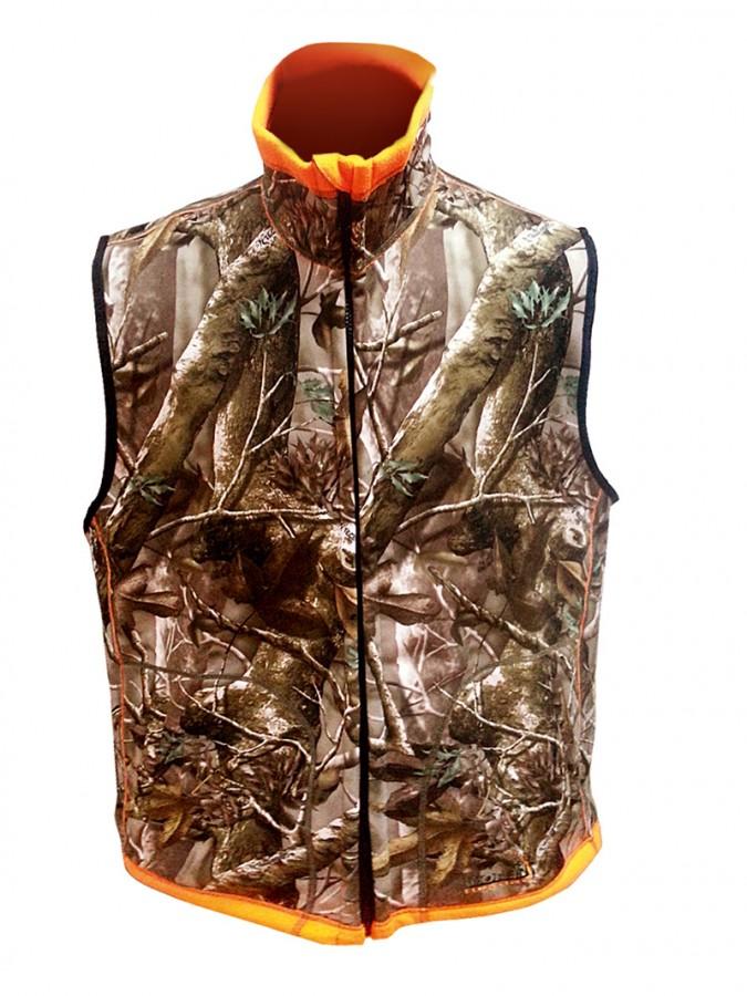 Жилет двусторонний Norfin Huntingh Reversable Vest Passion Orange XXXL