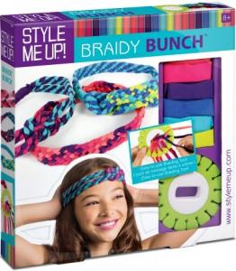 Набор для изготовления украшений для волос 'Braidy Bunch'