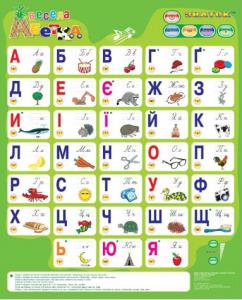 фото Звуковий електронний плакат 'Весела абетка' (українська мова) #2