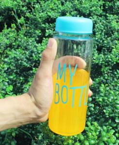 фото Бутылка для воды 'My Bottle' бирюзовая #4