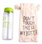 Подарок Бутылка для воды 'My Bottle' салатовая