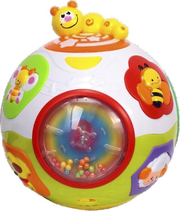 Купить Игрушка 'Счастливый мячик' Huile Toys