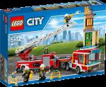 Конструктор LEGO City 'Пожарная машина'