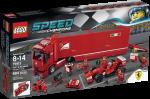 Конструктор LEGO Speed Champions Ferrari F14 T и грузовик Scuderia Ferrari