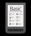 Электронная книга PocketBook 624 Basic Touch Grey