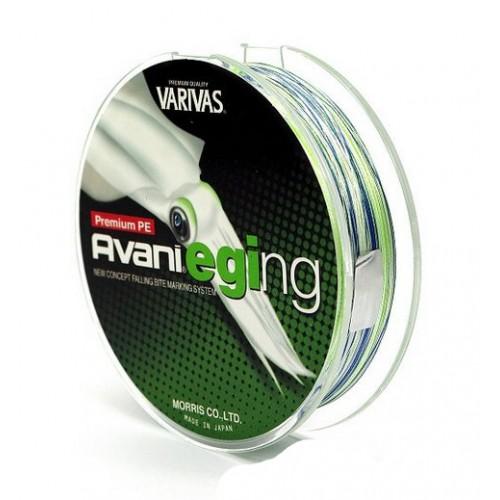 Купить Шнур Avani Eging PE Green 0.8 (120 м), Varivas