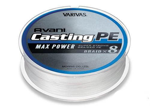 Купить Шнур Varivas Avani Casting PE Max Power 85 LB (600 м)