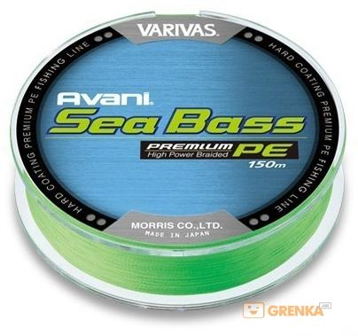 Купить Шнур Varivas New Avani Sea Bass PE #1.5 (150 м)