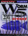 Крючок Decoy Worm 5 Offset 6
