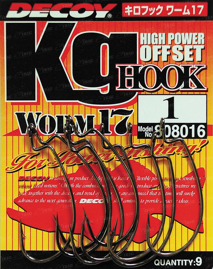 Купить Крючок Decoy Worm 17 Kig Hook 3/0