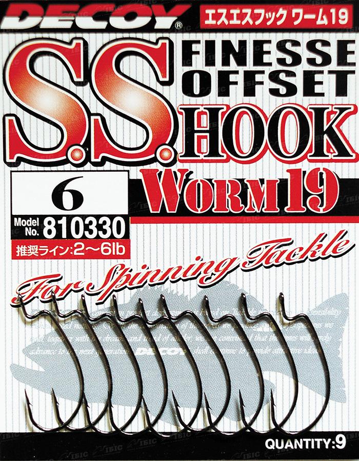 Купить Крючок Decoy Worm 19 S.S. Hook 6