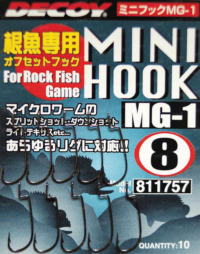 Купить Крючок Decoy Mini Hook MG-1 8